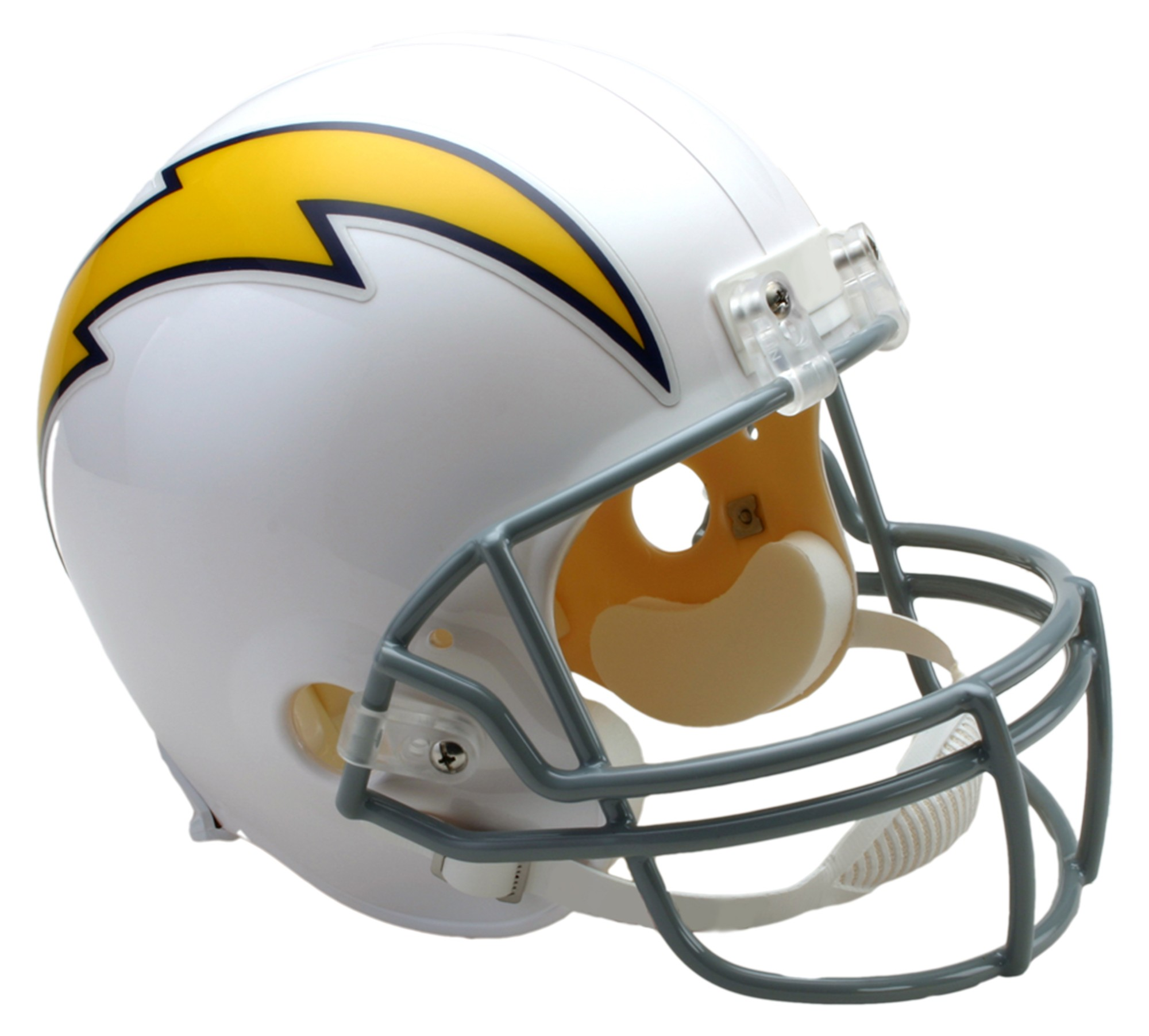 San Diego Chargers Box Office: SAN DIEGO CHARGERS THROWBACK REPLICA FULL SIZE HELMET