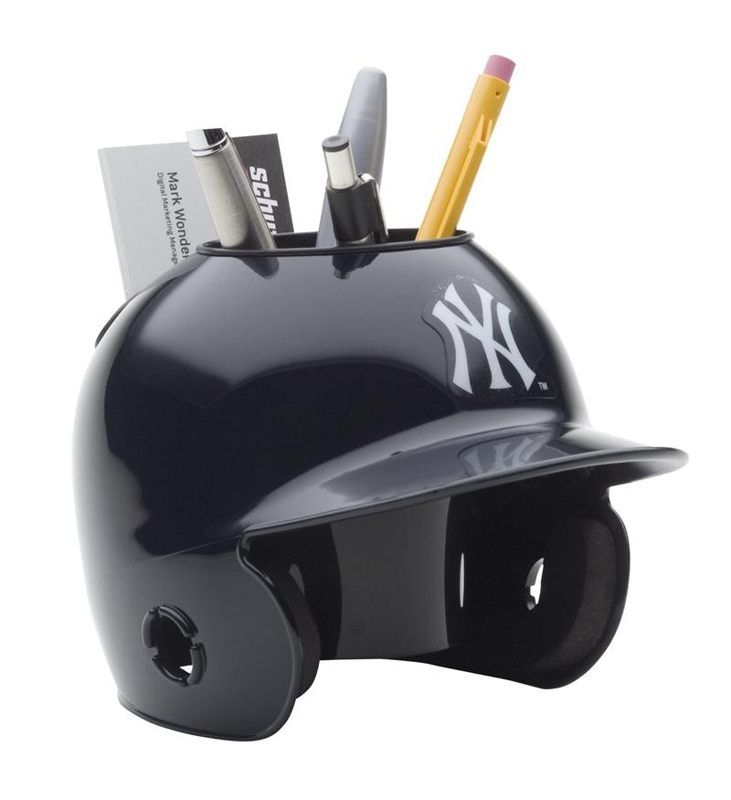 New York Yankees Mlb Mini Baseball Helmet Desk Caddy Ebay