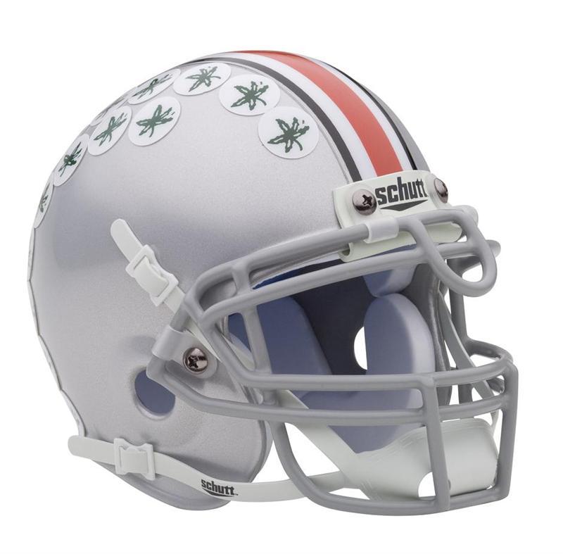 Schutt NCAA Ohio State Buckeyes Mini Authentic XP Football Helmet