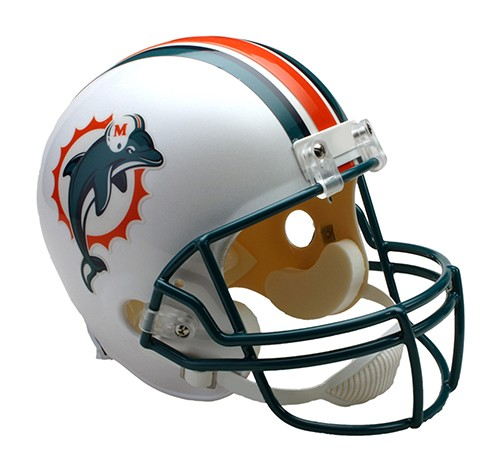 MIAMI DOLPHINS 1997-2012 THROWBACK FULL SIZE NFL REPLICA ...