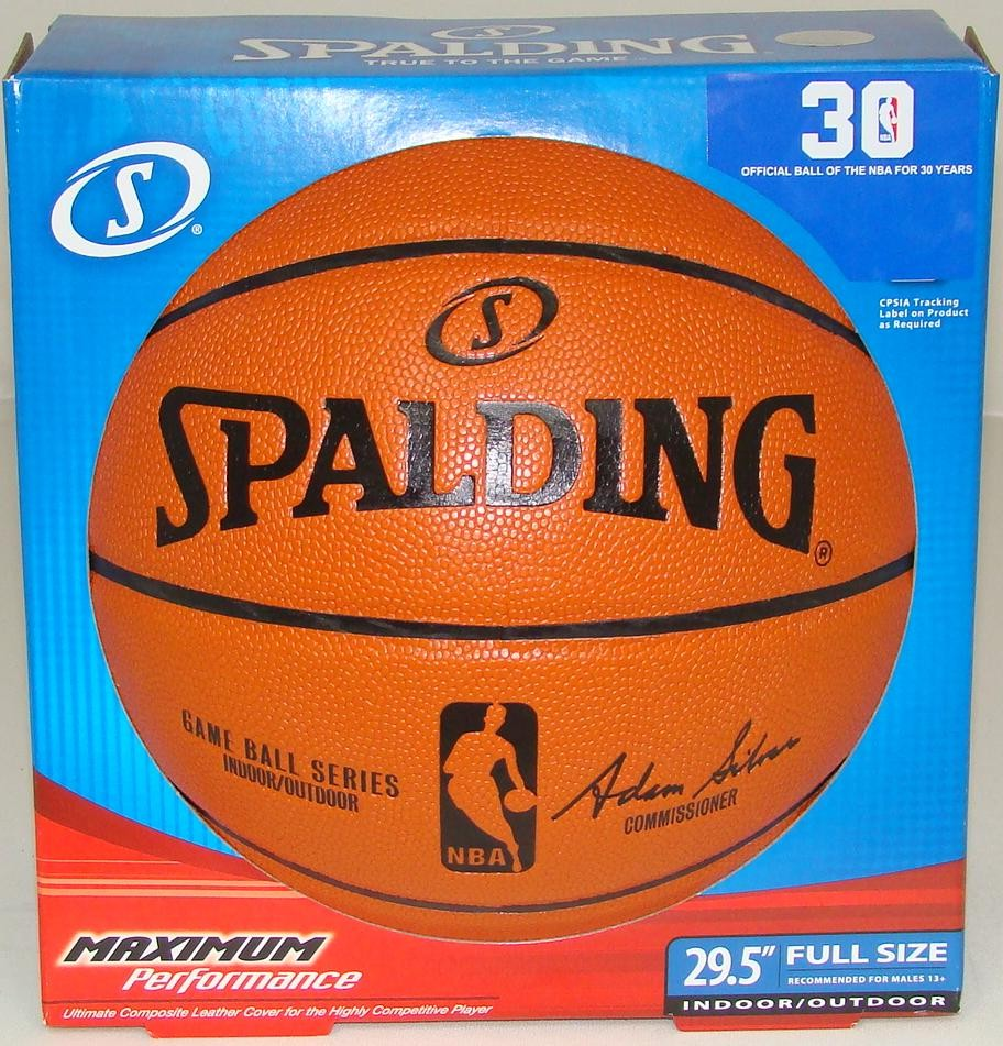 NEW SPALDING REPLICA NBA OFFICIAL SIZE